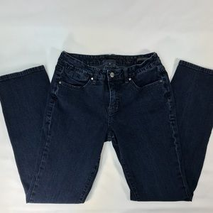 JAG JEANS mid-rise straight leg jeans size 8